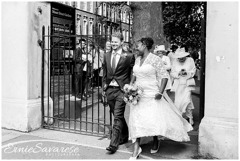 London Mayfair Wedding Photographer St Ermins Hotel