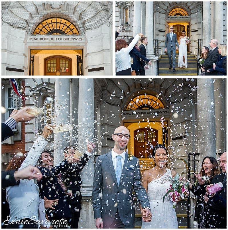 Greenwich Registry Office Wedding Photographer