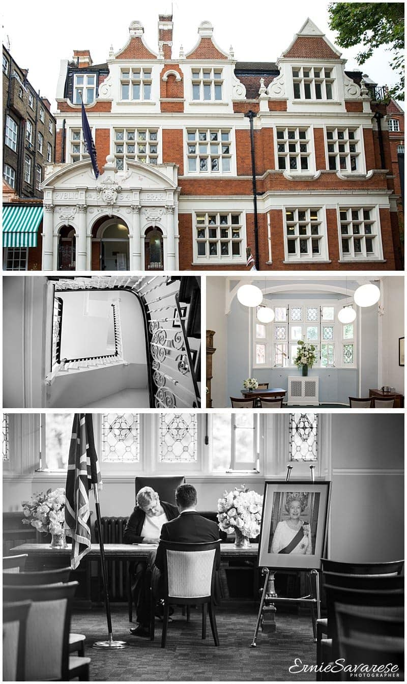 Mayfair Library Wedding Photography Central London