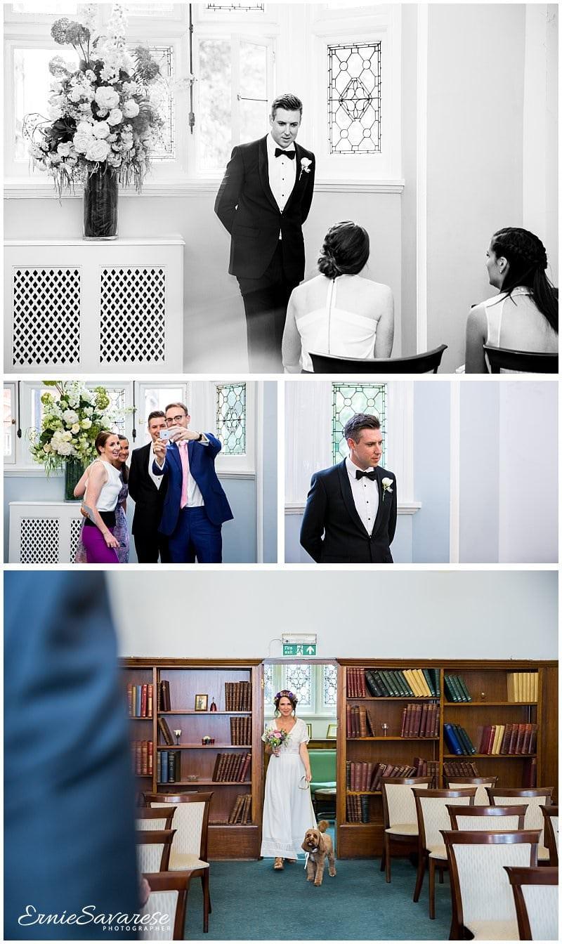 Mayfair Library Wedding Photography Central London