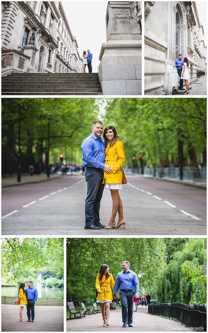 London Couples Photographer Engagement shoot