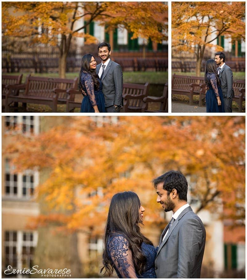 Mayfair Library Wedding Photography Autumn Winter