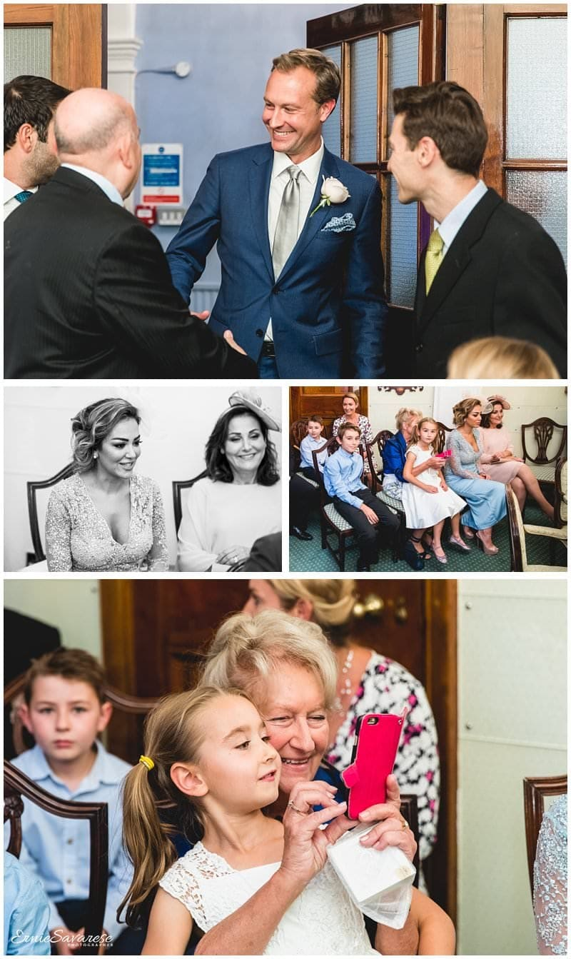 Kensington Chelsea Registry Wedding Photographer London